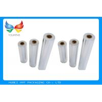 Quality Wet Strength Vacuum Metallized Paper , High Glossiness Silver Holographic Paper for sale