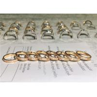 Wholesale Sophisticated 18K Gold Diamond Ring , Customized Cartier Love Wedding Ring from china suppliers