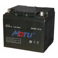 Wholesale Less Self - Discharging AGM Deep Cycle Battery Black Color For UPS / Solar / Lighting from china suppliers