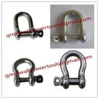 Buy cheap D-Shackle shackle, Bow Shackle, Shake-proof shackle,Heavy shackle from wholesalers