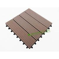 Wholesale Garden Tiles For Sale, WPC Outdoor decking For Garden, easy Installation wpc decking tiles, 300x300mm from china suppliers