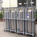 Wholesale 175L Cryogenic Liquid Storage Tank Xygen / Nitrogen / Argon Dewar Bottle from china suppliers