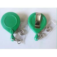 Wholesale ABS Custom Yoyo Id Card Holder , Round Retractable Badge Reels With BSCI from china suppliers