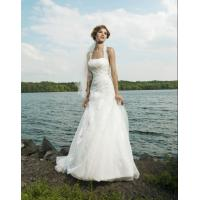 Wholesale 2012 Newest Design Strapless White Orgenza Bridal Dresses lmo018 from china suppliers