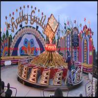 Buy cheap 40 seats Outdoor Funfair Amusement Hully Gully Rides Attractions For The Park from wholesalers