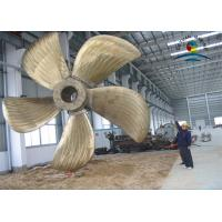 Wholesale Bronze Alloy Marine Propulsion Diesel Engines , 0.5m Diameter Ship Propulsion from china suppliers