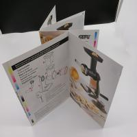 Wholesale Rectangle / Square Printing Press Brochure Paperboard For User Guide from china suppliers