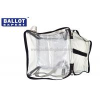 Quality Recycled Materials Plastic Suggestion Box , Soft Clear Ballot Box for sale