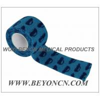 Wholesale Car Prints Self Adhesive Cohesive Flexible Stretch Bandage Fix Dressing For Animals from china suppliers
