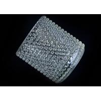 Wholesale Home Deco Custom Nail Glass Candle Holder / Glass Cylinder Candle Holders from china suppliers