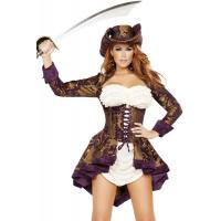Wholesale Exotic Marauder Womens Sexy Costumes  Indian Fancy Dress Pirate from china suppliers