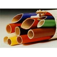 China Silicone Rubber Coated Fiberglass Sleeving -10ºC  +200ºC Continuous Operating Temperature on sale