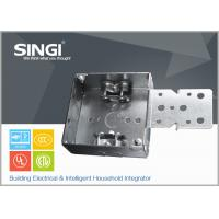 Wholesale Canadian UL hollow out rust - proofing metal outlet box / electrical wiring boxes from china suppliers