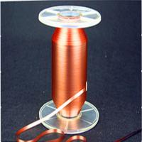 Natural Color Power Cable Accessories Rolled Copper Foil Wheat Pull Polyester Belt