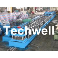Wholesale 380V, 3 Phase 50Hz Two Wave Guardrail Roll Forming Machine for Highway Guardrail from china suppliers