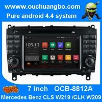 Wholesale Ouchuangbo Mercedes Benz w209 w219 audio DVD gps stereo android 4.4 supoort cabus MP3 from china suppliers