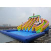 Wholesale Children Amazing Durable Largest Inflatable Water Slide With Pool from china suppliers