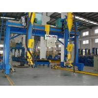 Wholesale China Dual Sides Driving Automatic H Beam Welding Machine with Lincoln DC-1000 Welder SAW Welding Method in H Beam Line from china suppliers