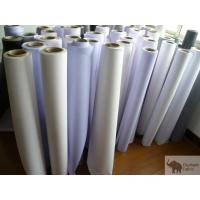 Wholesale Flex Banner Polypropylene Woven Fabric 0.51mm Thickness , Fire Retardant from china suppliers
