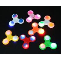 Wholesale Promotion Gift Led Fidget Spinner Toy With Flash , Unique Switch Design from china suppliers