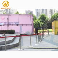 Buy cheap Airport/Bank/Events Crowd Control Stainless Steel Retractable Belt Queue Barrier from wholesalers
