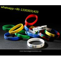 new interesting products rainbow silicone bracelet / rubber pvc wristband / silicone band for sale