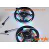 Flexible RGB Super Bright LED Light Strips , Bendable LED Strip Lights For Christmas for sale