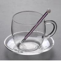 Buy cheap High quality luxury transparency glass water coffee juice cup from wholesalers