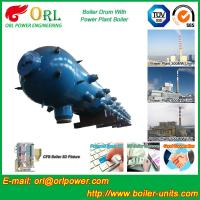 Buy cheap High Pressure Coal Boiler Mud Drum Longitudinal With Fire Prevention from wholesalers
