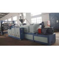 China pvc Plastic Sheet Extrusion Line , Double Screw pvc Board For Decoration on sale