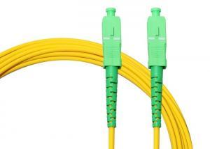 China SC/APC To SC/APC 3m Simplex LSZH Sfp Optical Fiber Patch Cord on sale