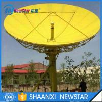 Wholesale 7.5m Rx-only motorized TV earth station satellite antenna from china suppliers