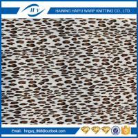 Wholesale Super Soft Printed Fleece Fabric D Knitted  Shrink - Resistant from china suppliers