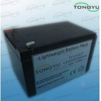 Wholesale 12Ah 12V LiFePO4 Battery For Solar Powered Lights With No Memory Effect from china suppliers