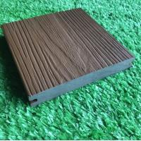 China Co Extrusion Hollow WPC Deck Flooring Anti Scratch For Outdoor on sale
