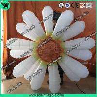 Wholesale 2m Beautiful White Flower Inflatable Led Light For Party Wedding Decoration With Blower from china suppliers