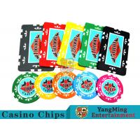 Wholesale Entertainment ABS Plastic RFID Casino Chips With Custom Logo Dedicated Box from china suppliers