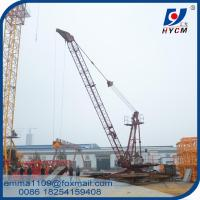China QD1515 3 Tons Derrick Crane for Lifting Materials With Luffing Mechanism for sale