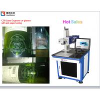 China High Speed CO2 Laser Marking Machine Semiconductor Laser Marker Wooden Printing for sale