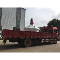 China Durable Planetary Concrete Mixer Vertical Shaft PMC2000 3000L Input Capacity for sale