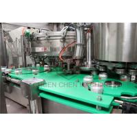 Aseptic Aluminum Can Filling Machine Wine Beer Brewing Canning System for sale