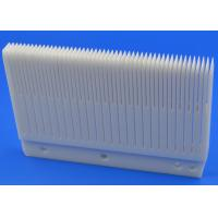 Wholesale White Advanced Technical Ceramics Slotted Ceramic Wafer Boat For Wafer Carrier from china suppliers