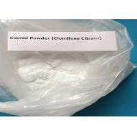 Wholesale Anti-Estrogen Steroid Powder Clomifene Citrate for Anti-Cancer CAS 50-41-9 from china suppliers