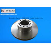 Wholesale Mercedes-Benz 9434210312 G3000 Iron front&rear axle vented truck brake disc from china suppliers