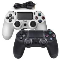 Wholesale Hot wired controller for Playstation 4 usb wired gamepad for PlayStation 4 Black and White from china suppliers