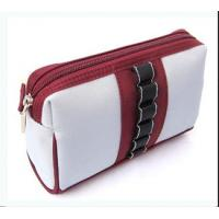China Designer makeup PU,PVC,polyester and nylon beauty Cosmetic small Bags and Cases  on sale