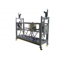 Aluminum Suspended Work Platform 380V 3 Phase ZLP630 With Electrical Control Box for sale