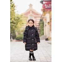 China Bilemi detachable cap black red gray down jacket baby girl parka kids winter down coat for sale