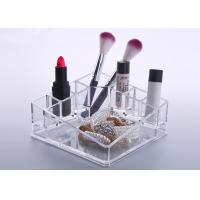 Quality Desktop Clear Counter Display Stands Tray Exquisite For Cosmetics for sale