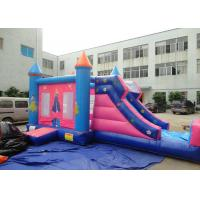 Wholesale Kids Princess Bouncy Castle Slide Combo For Inflatable Amusement Park from china suppliers